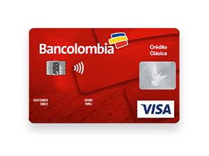 Visa Clásica Bancolombia requisitos