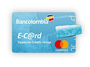 E-Card MasterCard Bancolombia requisitos