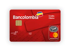 MasterCard Clásica Bancolombia requisitos