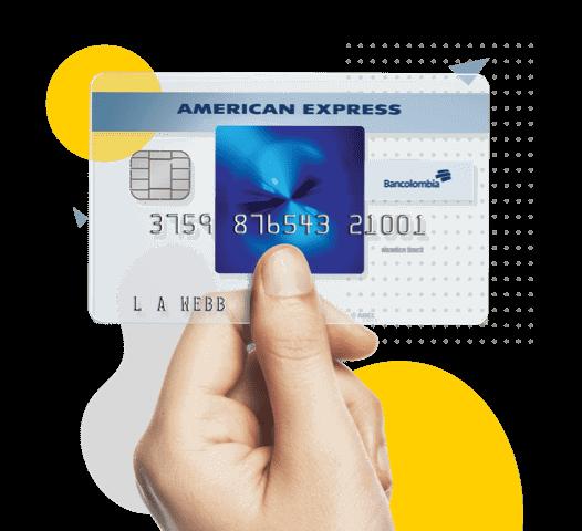 Blue American Express