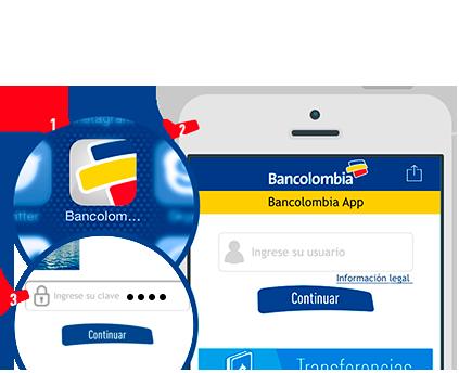 Realizar Transferencias A Cuentas No Inscritas Por Bancolombia App